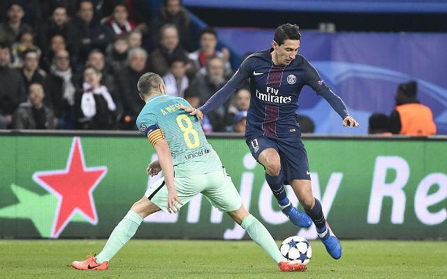 Az első meccsen Di María kétszer is beköszönt a Barcának