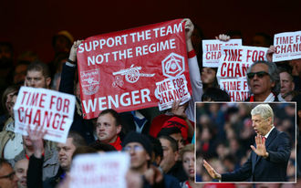 Wengert már év közben kivágja az Arsenal?