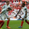 Betalált a nagy angol visszatérő, gólt kaptak a németek