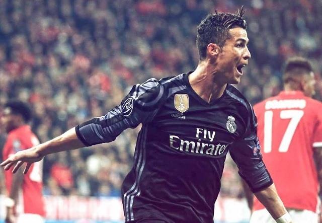 Ronaldo 100. európai kupagólját szerezte szerdán
