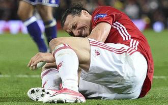 Mourinho a legrosszabbtól tart Ibrahimovic sérülése láttán