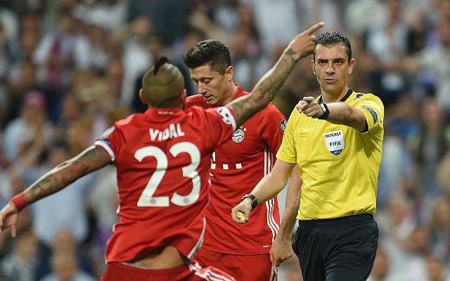 Vidal kiállítása után már nem volt esélye a Bayernnek