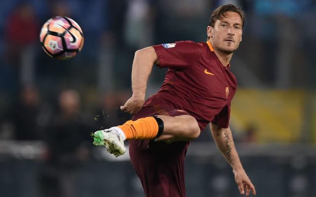 Eleganciában sosem volt hiány Totti játékában
