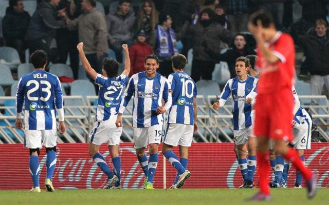 A magyar fogadóknál tuti a Sociedad sikere hétfőn este.