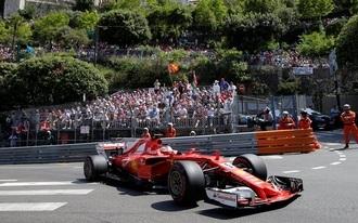 Kettős Ferrari-győzelem Monacóban