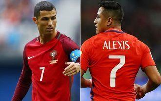 Ronaldo vagy Alexis? - kontinensbajnokok egymás ellen
