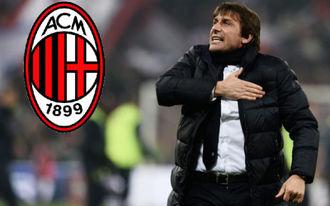 Durva összeesküvés-elmélet vezeti Contét az AC Milan kispadjára