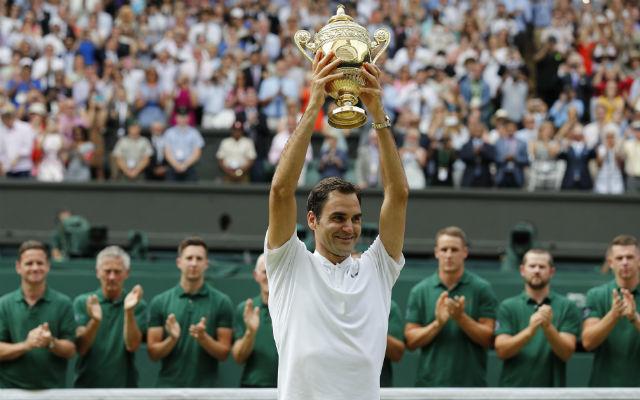 Ezt a jelenetet már sokszor láthattuk Federertől