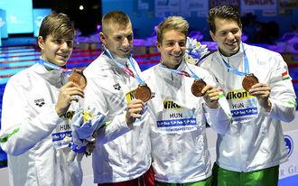 Történelmi meglepetés hozta az első magyar úszóérmet