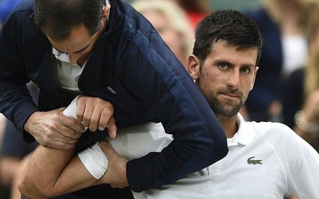 Djokovicsot sérülés hátráltatja