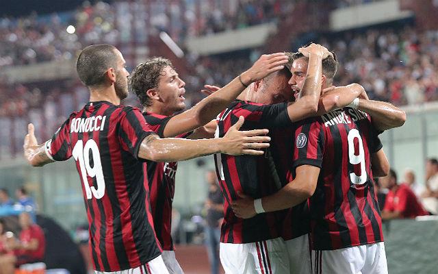 A Milan a Skendija elleni 6-0-val hangolt a bajnokságra
