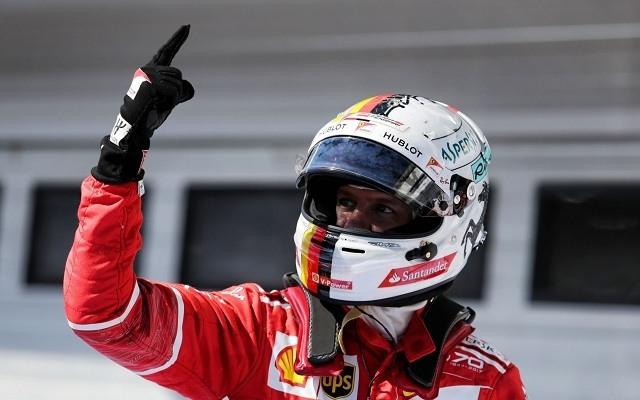 Vettelé a Brazil Nagydíj. - Fotó: motorsport