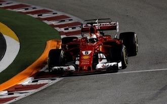 Borítékolható Vettel győzelme Szingapúrban?!