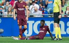 Tízmiliót keresett a Barcelona Dembélé sérülésével