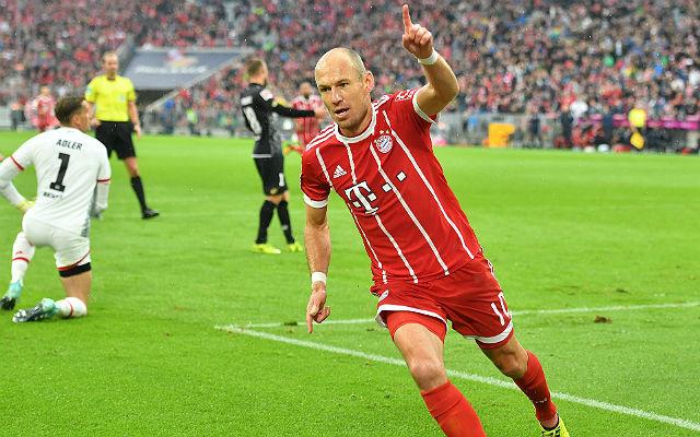 Robben a Mainz ellen gólt rúgott, aztán megbetegedett