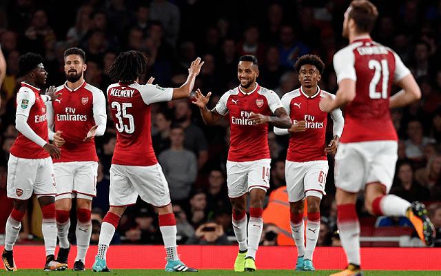 Nem hibázhat az Arsenal. - Fotó: twitter.com/arsenal
