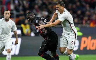 Két kínos meccs után az egyre meggyőzőbb Roma vár a Milanra