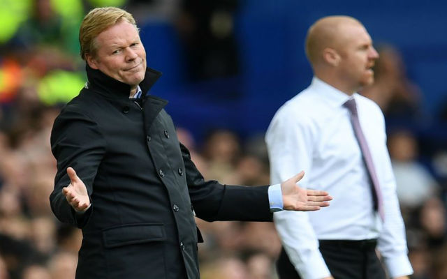 Ha az Everton kikap, nehezen úszhatja meg Koeman