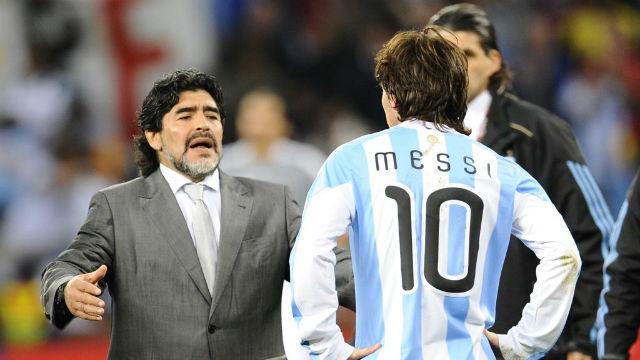 2010-ben Don Diego a negyeddöntőig vezette az Albicelestét