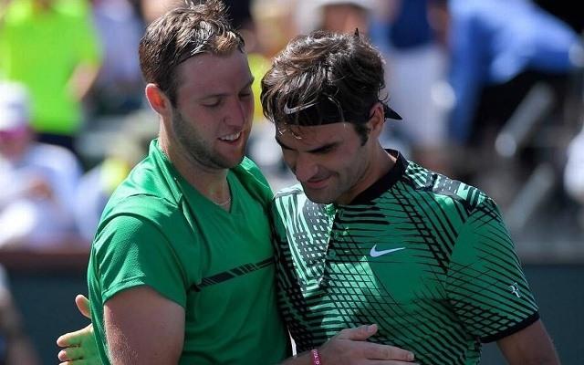 Sock és Federer idén Indian Wellsben már megmérkőzött egymással. - Fotó: ATP