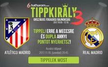 Ezért is megéri az Atlético-Real Madridra tippelni!