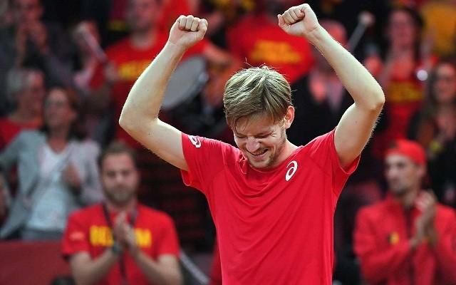 Goffinon múlik a belgák sikere. - Fotó: Davis Cup