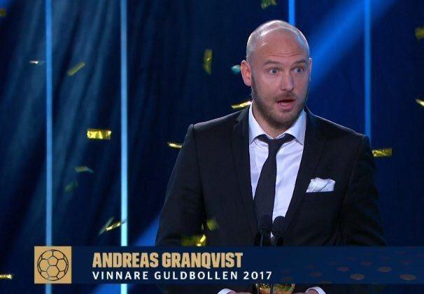 Granvqvist az eredményhirdetés pillanatában