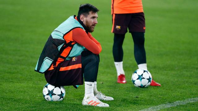 Messiék ráülnek vajon a döntetlenre? fotó: FC Barcelona Facebook