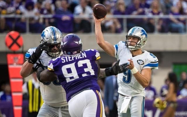 Staffordnak vajon sikerül kitalálnia valamit az elit minnesotai védelem ellen? - Fotó: NFL