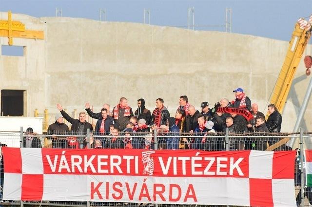 Örülhettek a várdai drukkerek, csapatuk legyőzte a listavezetőt / Fotó: Kisvárda FC facebook.com