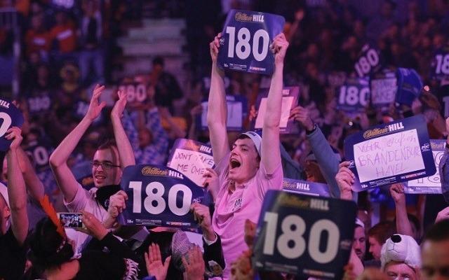 Az Ally Pallyben mindig őrült a hangulat. - Fotó: pdc.tv
