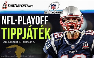 Indul az NFL-rájátszás, tippelj a mérkőzésekre és nyerj!