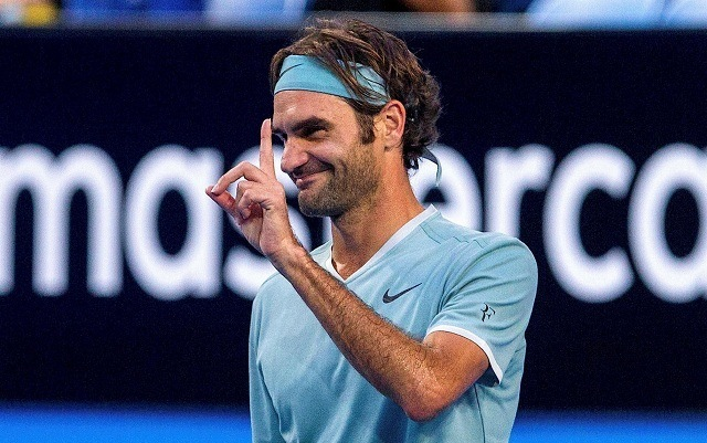Remek formában játszik Federer Perth-ben. - Fotó: metro.co.uk