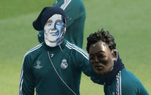 Ronaldo akarata ellenére ismét nevetség tárgya lett