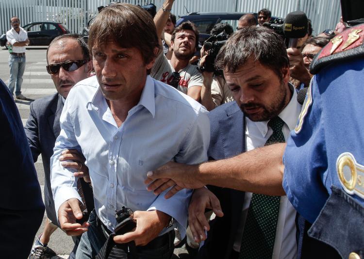 Az olasz bundabotrányban még Antonio Contét is elővették - Fotó: NY Daily News