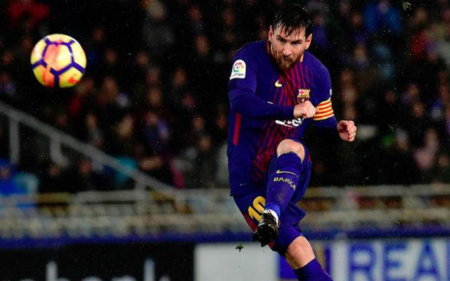 Messi mesteri szabadrúgás gólja történelminek bizonyult. fotó: theworldgame.com