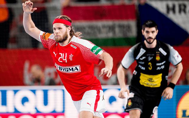 Győzelemmel kezdhetik a középdöntőt a dánok. - Fotó: cro2018.ehf-euro.com