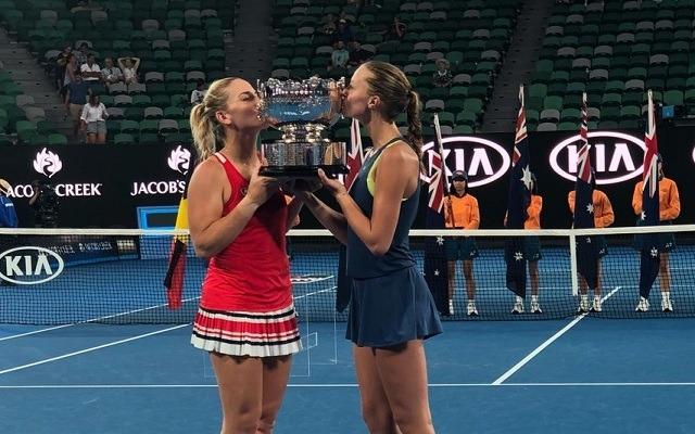 Babos első Grand Slam-versenyét nyerte. - Fotó: Twitter