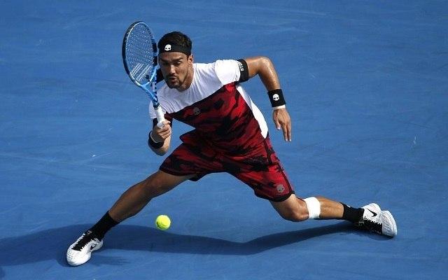 Fognini borsot törhet Berdych orra alá. - Fotó: ATP