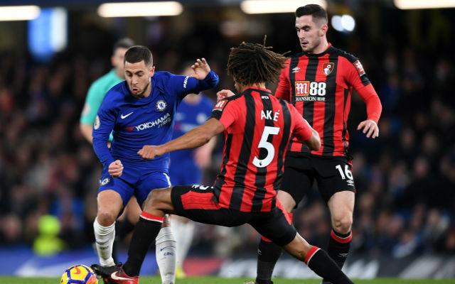 Conte eltaktikázta, Hazard nem vált be mint ék. fotó: http://www.azaniapost.com