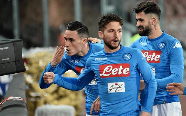 Legalább két gólt várunk a Napoli-Leipzig meccsen. - Fotó: Twitter