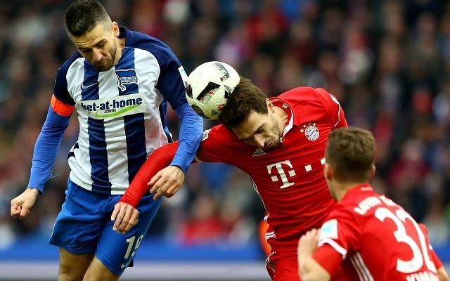 A Bayern toronymagas favoritként várja a Hertha elleni ütközetet. - Fotó: The Sun