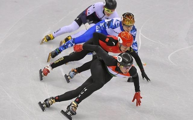 Liu Shaolin Sándor az aranyérem egyik favoritja 500 méteren. - Fotó: MTI/Czeglédi Zsolt