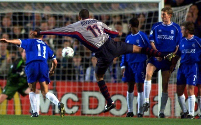 Rivaldo maga is játszott a Chelsea ellen. - Fotó: Archív