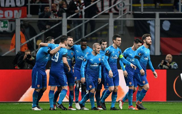 Legalább két gólra számítunk az Arsenal-Milan meccsen. - Fotó: Twitter