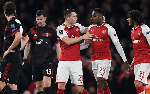 Az Arsenal váratlanul simán lépett át a Milanon, majd a lehető legkönnyebbnek tűnő ellenfelet kapta. fotó:goal.com