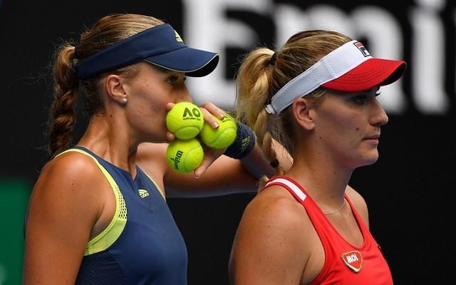 Nehéz negyeddöntő vár Babosékra. - Fotó: AFP