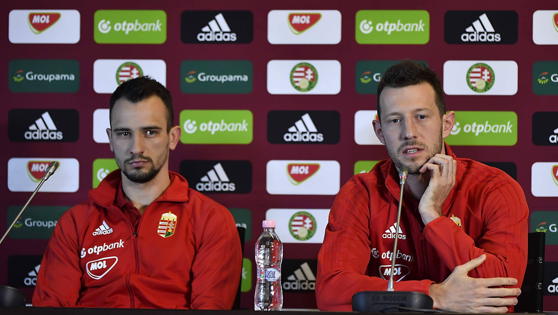 Ugrai Roland és Elek Ákos. - Fotó: mlsz.hu