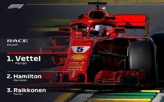 Nagy mázlival Vettelé a szezonnyitó