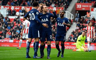 A Tottenham rúghatja a következőt a Citybe